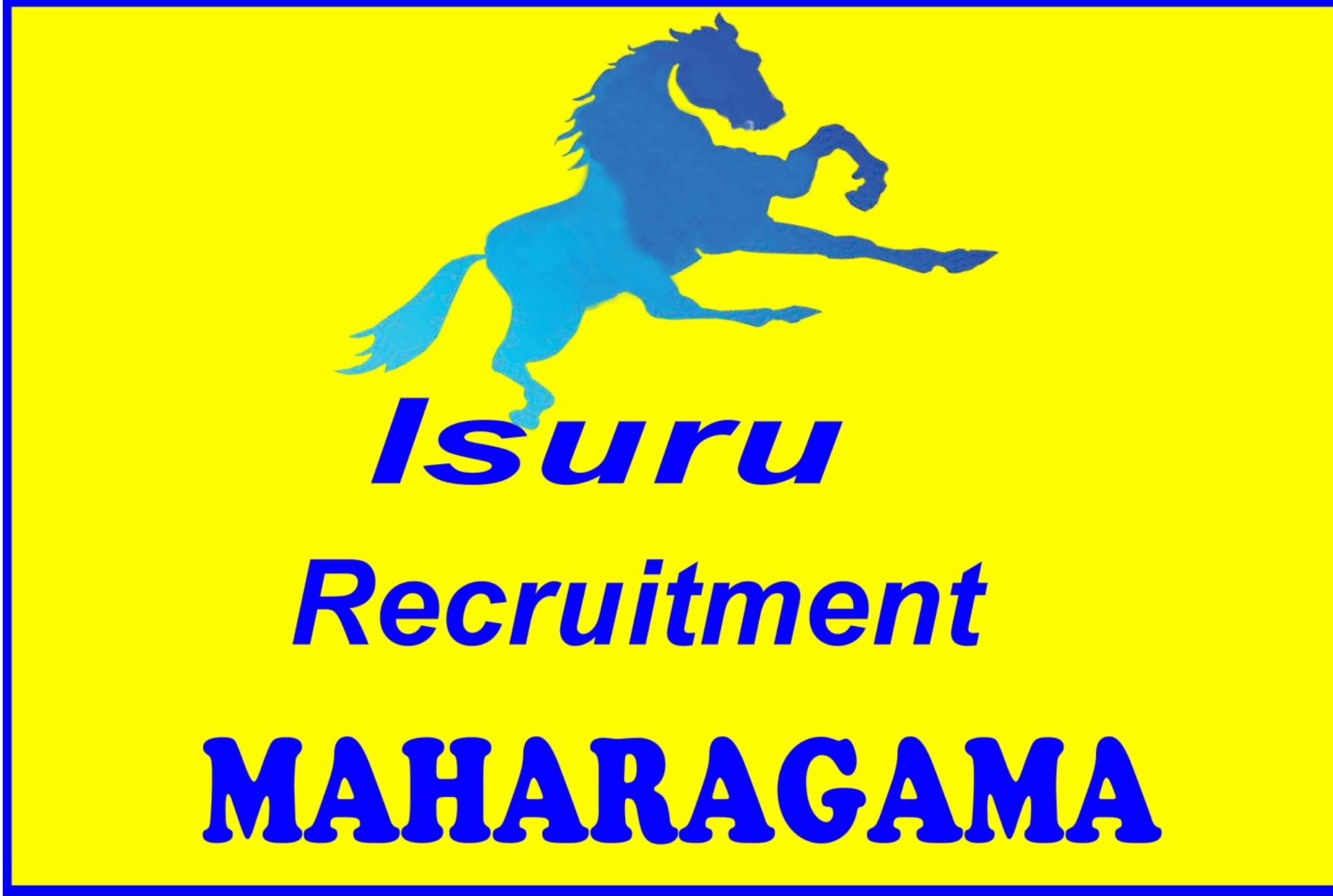 Isuru Recruitment